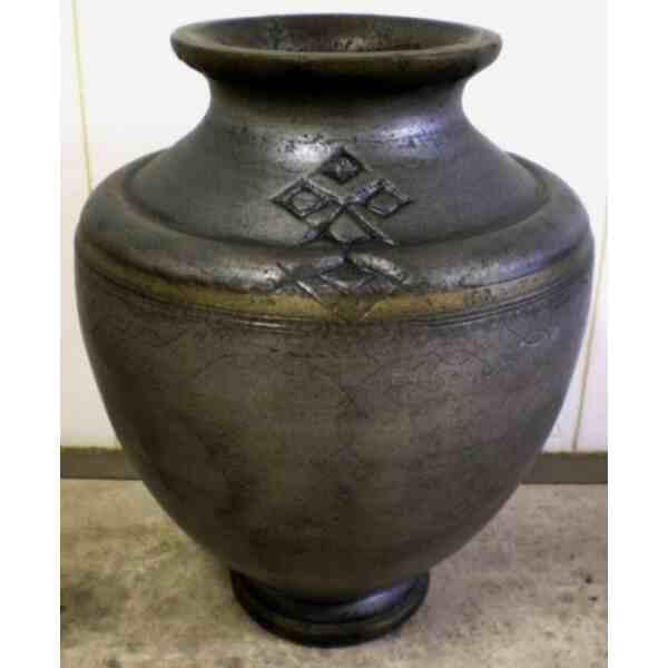 Váza velká cínová 115 kg