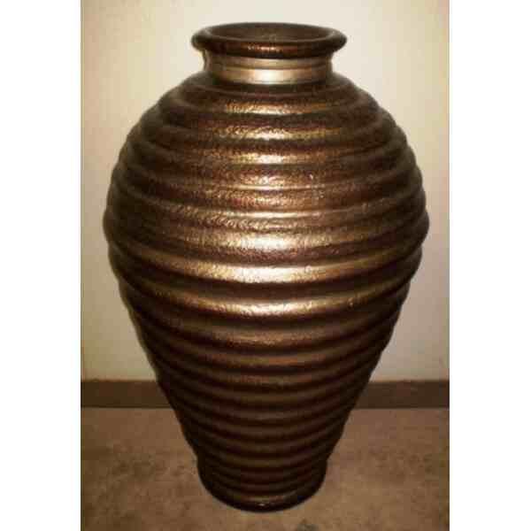 Váza velká měď a stříbro 82 kg