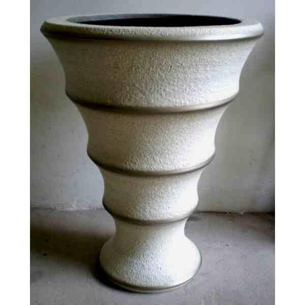 Váza velká květináčová bílá 112 kg