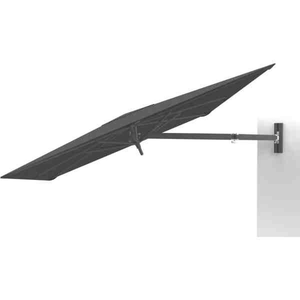 UX Full Black wall mounted umbrella